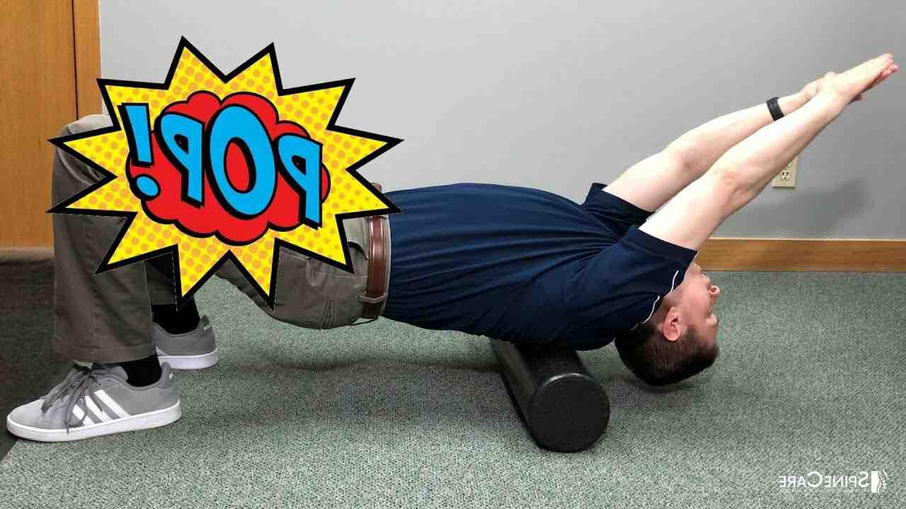 Comment craquer le haut du dos