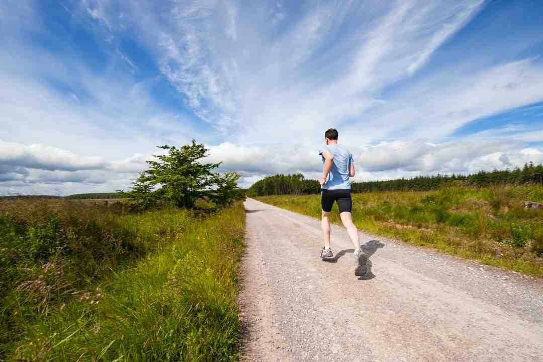Course à pied bienfait